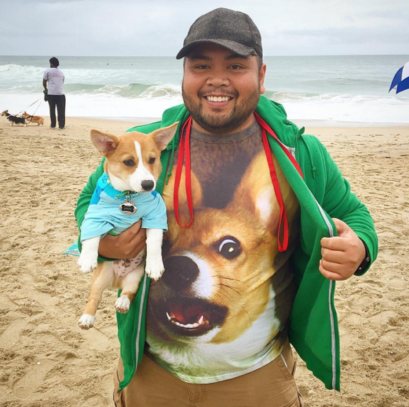 A real Corgi-fan
